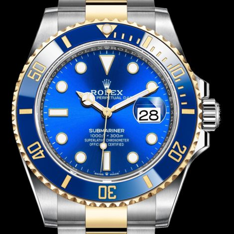 Cheap Rolex Updated New Steel 126610 And Two-Tone 126613 Submariner Replica Watches