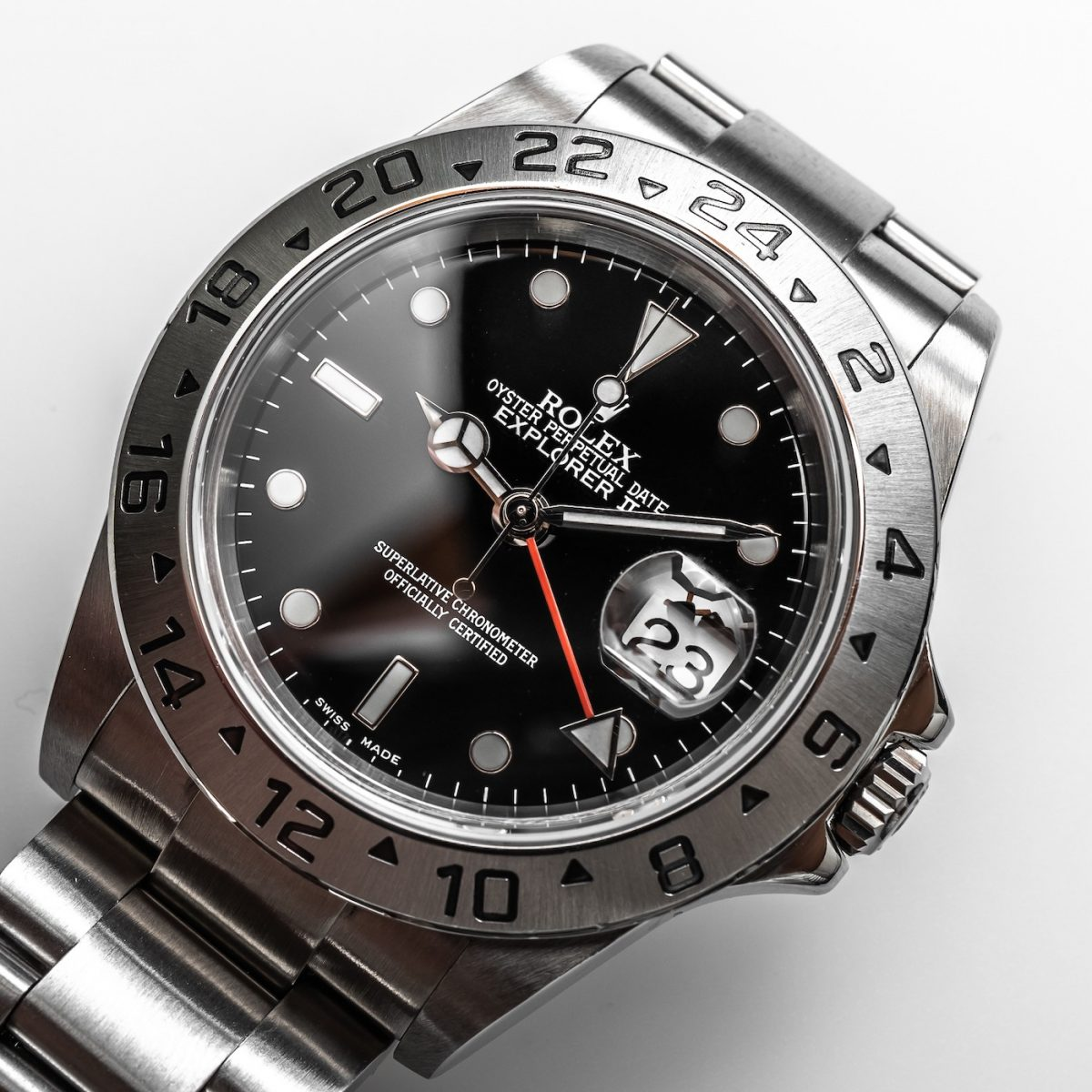 Perfect Rolex Explorer II 16570 Replica Watch Review